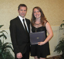 Dr. Stefan Rothenburg with his student researcher Carrie Remillard