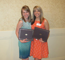 Awardees Emily Schnell & Sarah Carr