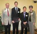 Jim & Cibyl Ronen (council) with Joseph Smith & Phuoc Bui