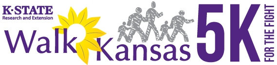 Walk Kansas 5K Logo