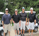Intrust Bank's Bryan Locke, Ed Gard, Blake Bauer, Greg Berry